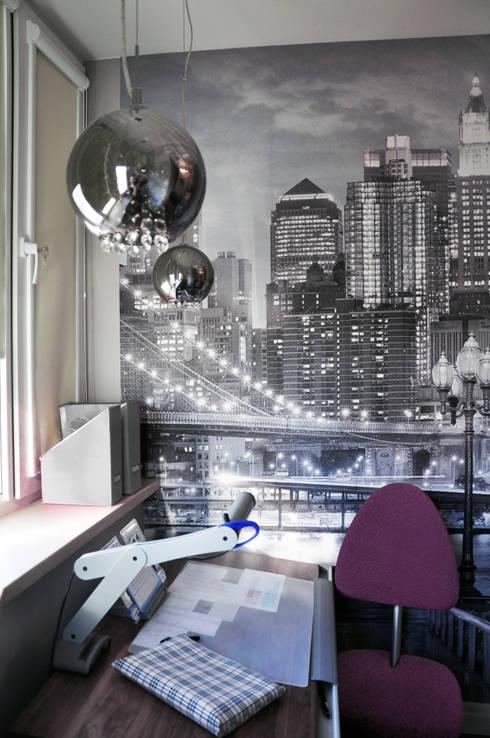 """КРЕМ-БРЮЛЕ """"ПО-КЛАССИЧЕСКИ"""": Стены и пол в . Автор – студия дизайна архитектурной среды 'S-KVADRAT'"""