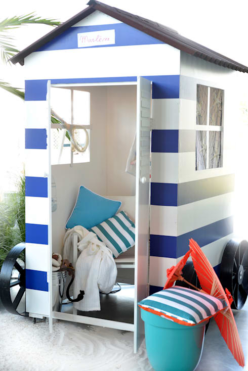 At the Beach:  Fitnessruimte door Groothandel in decoratie en lifestyle artikelen