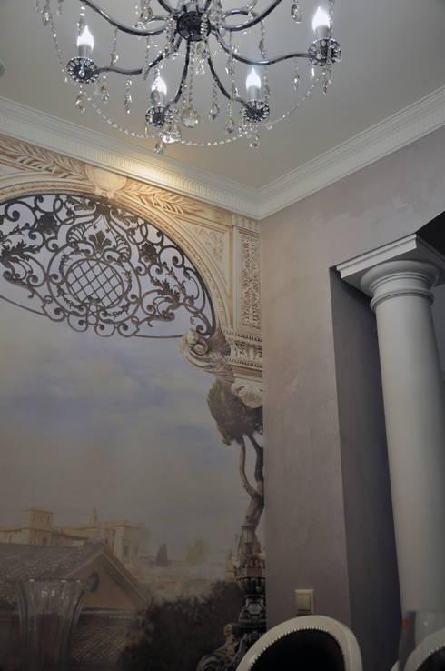 Murs & Sols de style  par студия дизайна архитектурной среды 'S-KVADRAT'