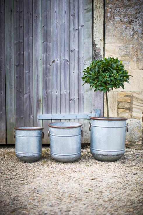 Set of 3 Malmesbury Planters:  Garden  by Garden Trading
