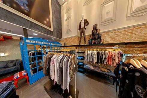 Loja Osborne: Lojas e imóveis comerciais  por Kubbo Arquitetos