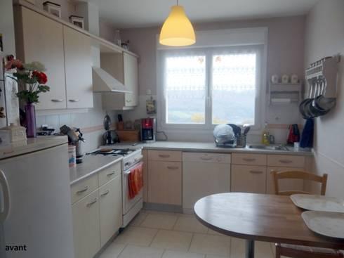 Relookage de cuisines et meubles de les cuisines de for Cocinas viejas reformadas