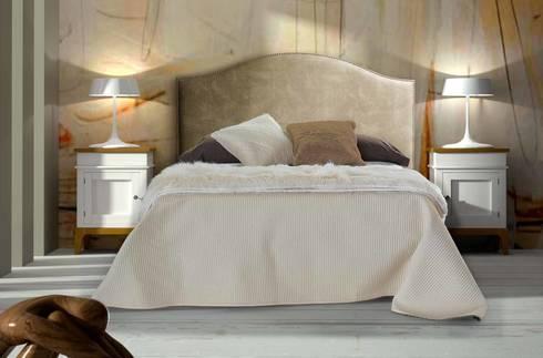 DORMITORIOS: Dormitorios de estilo mediterráneo de CREA Y DECORA MUEBLES