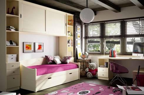 DORMITORIOS: Dormitorios infantiles de estilo mediterráneo de CREA Y DECORA MUEBLES