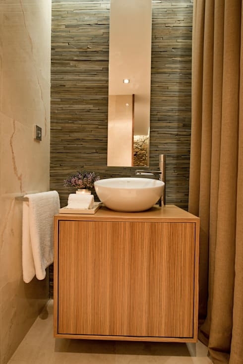 Bathroom by PAULA NOVAIS ARQUITECTOS E DESIGN