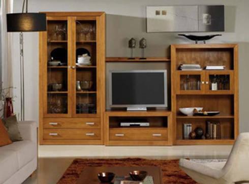Ambiente Salon II Kinus-Nova: Salones de estilo rural de Icommers Every S.L.