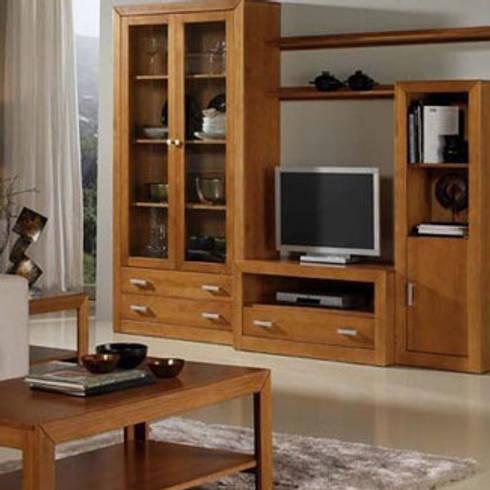 Ambiente Salon I Kinus-Nova: Salones de estilo rural de Icommers Every S.L.