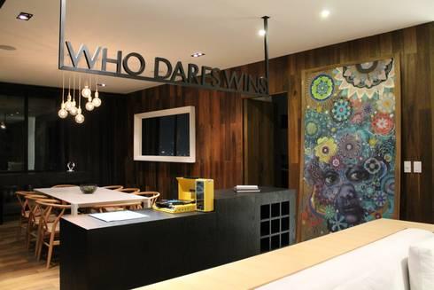 Barra de Bar, Hat Diseño: Comedores de estilo moderno por Hat Diseño