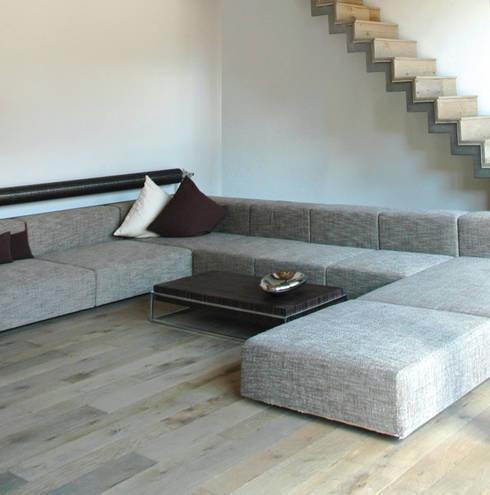 Wohnhaus 26:  Wohnzimmer von Kohlbecker Gesamtplan GmbH