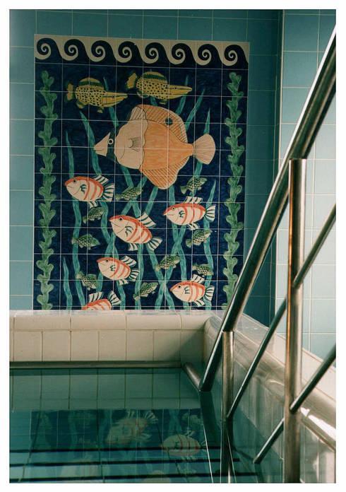 Bệnh viện by Reptile tiles & ceramics