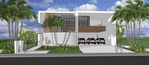 A30 Residência: Casas modernas por Canisio Beeck Arquiteto
