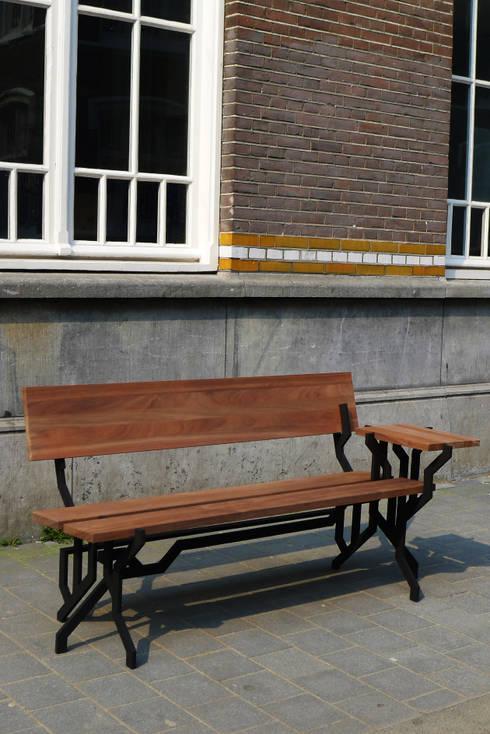 Plant Bench: moderne Tuin door Kranen/Gille