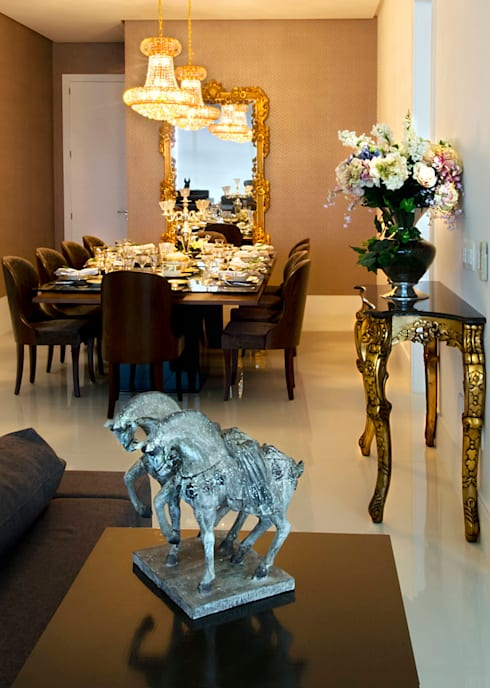 A31 Residência: Salas de jantar ecléticas por Canisio Beeck Arquiteto