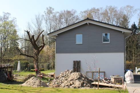 Wohngesundes holzhaus modern und kosteng nstig von neues for Holzhaus modern bauen