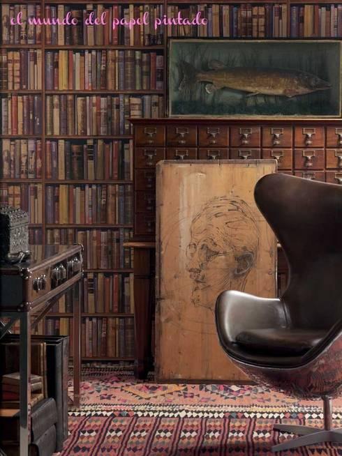 Andrew Martin - Navigator: Paredes y suelos de estilo clásico de El Mundo del Papel Pintado