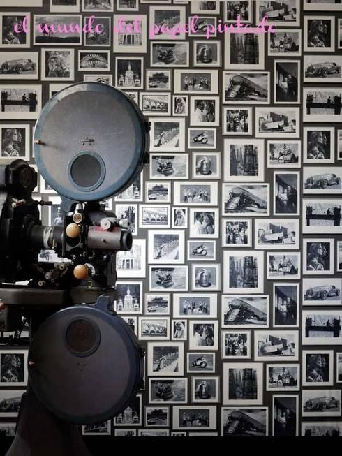 Paredes y pisos de estilo  por El Mundo del Papel Pintado