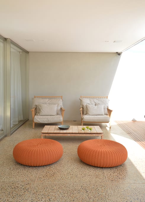 Fazenda Boa Vista: Terraços  por 2L Arquitetura