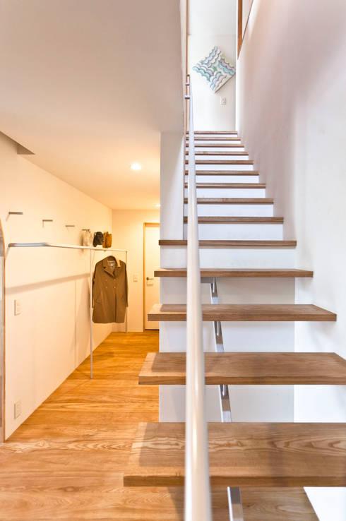 SHR house: sun tan architects studioが手掛けたウォークインクローゼットです。
