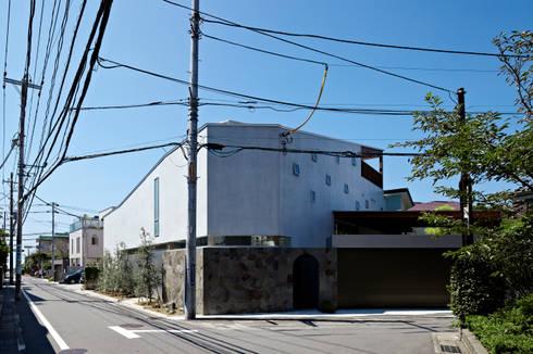 北側からの外観: 工藤宏仁建築設計事務所が手掛けた家です。
