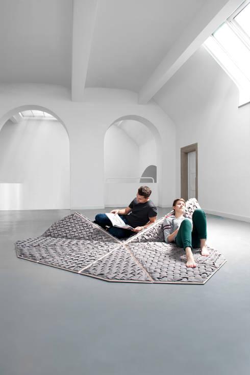 Sitting Island: ausgefallene Wohnzimmer von Nora Werner Design