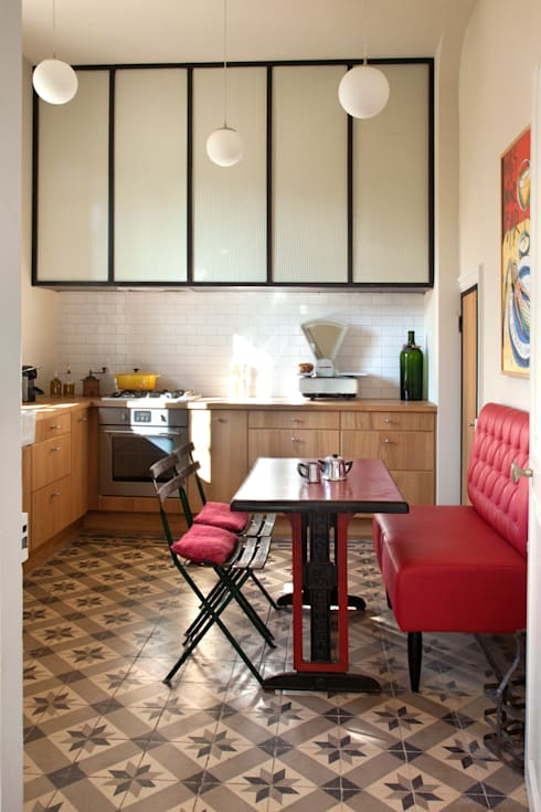 Cocinas de estilo  por ALTA MENTE