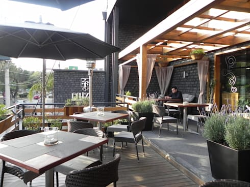 Raíz, Hat Diseño: Restaurantes de estilo  por Hat Diseño