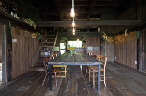 森の家 ダイニング(after): 井上貴詞建築設計事務所が手掛けたです。