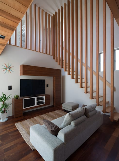 Casas de estilo moderno por Architect Show co.,Ltd