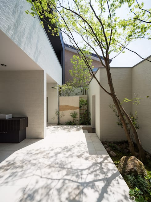 Casas de estilo  por Architect Show co.,Ltd