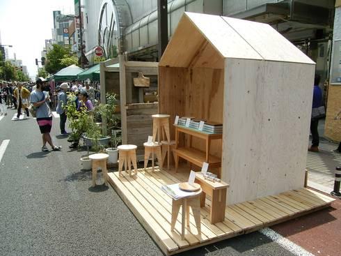 YAMAMORI 4: 井上貴詞建築設計事務所が手掛けたオフィススペース&店です。