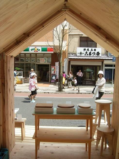 YAMAMORI 5: 井上貴詞建築設計事務所が手掛けた商業空間です。