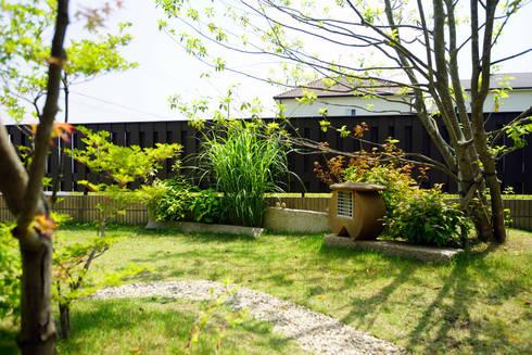 日差しがにあう芝生の庭 2011~: にわいろSTYLEが手掛けた庭です。