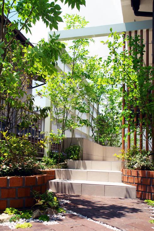休日カフェをたのしむ家族の庭 2012~: にわいろSTYLEが手掛けた庭です。