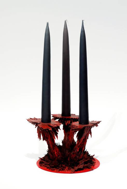 Gravity Collection – Candle Holders:  Kunst  door Jólan van der Wiel