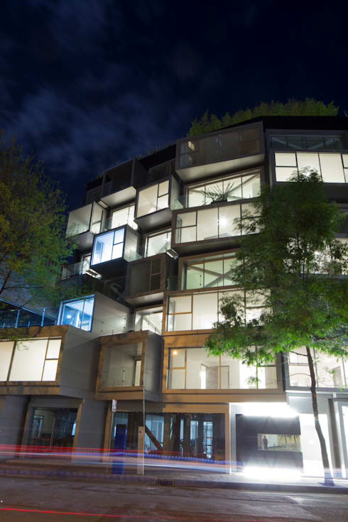 Atenas 40: Casas de estilo moderno por Craft Arquitectos