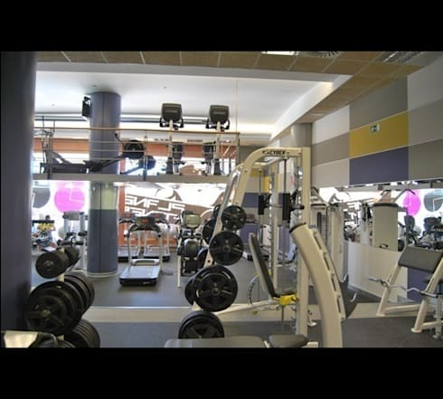 Dise o de gimnasio 24 horas de fitness a todo color de for 24 horas gym