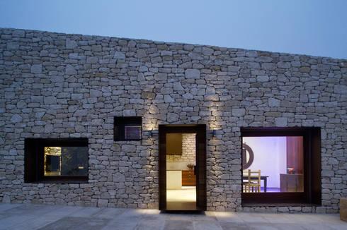Interior, exterior...: Casas de estilo rural de Tomás Amat Estudio de Arquitectura