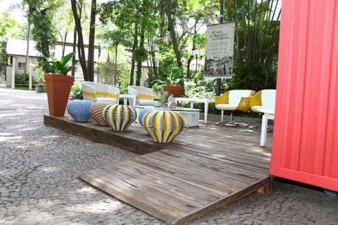 Mostra Ciranda Cutural: Centros de exposições  por Marcos Contrera Arquitetura & Interiores