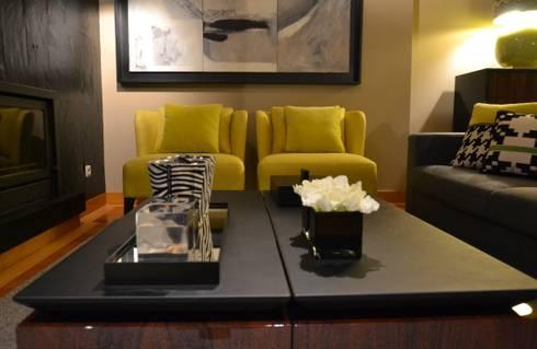 APARTAMENTO _ PORTO: Salas de estar modernas por PAULA NOVAIS ARQUITECTOS E DESIGN