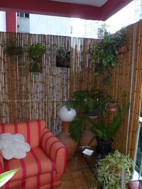 Bambu Rei Eco-Design의  베란다