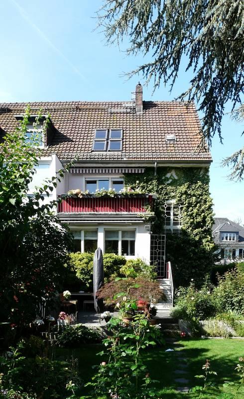 Gartenansicht vorher:   von Gerstner Kaluza Architektur GmbH