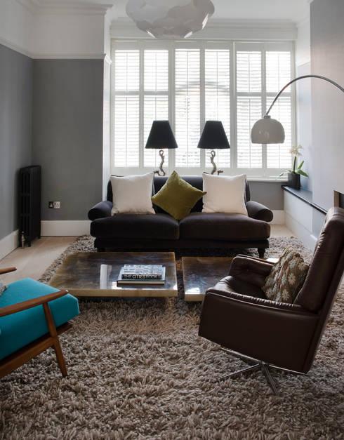 modern Living room by Hamilton King