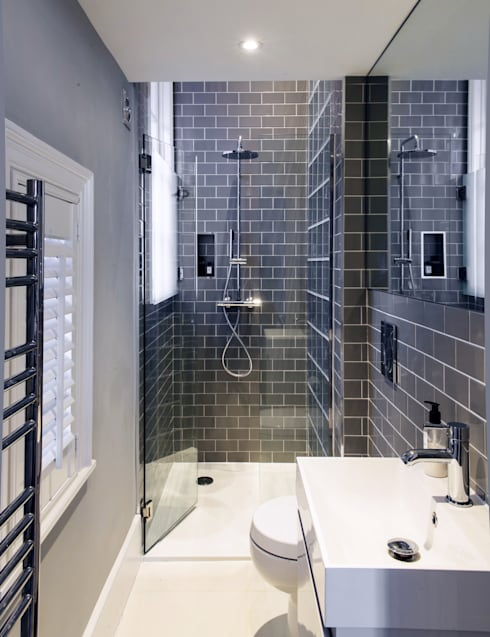Addison Grove: modern Bathroom by Hamilton King