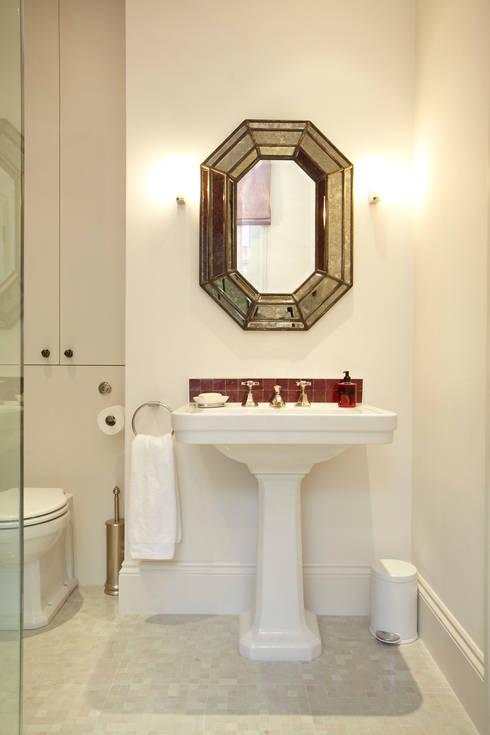 Renovation of Flat Marylebone:  Bathroom by Saunders Interiors Ltd