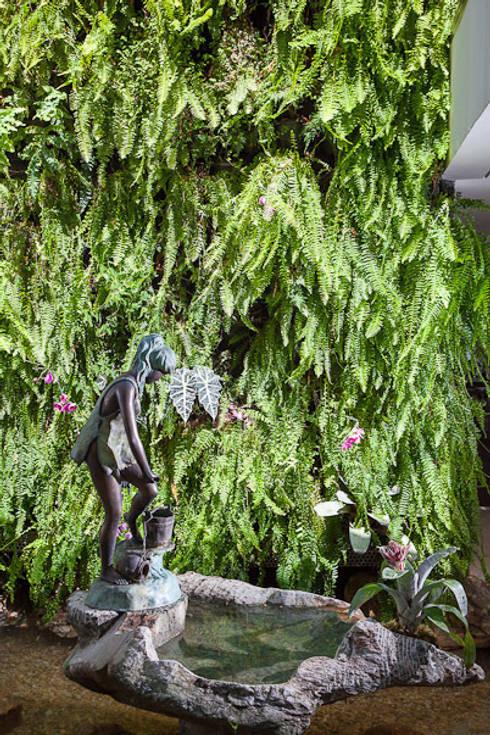Residência Nova Lima – MG: Jardins de inverno modernos por CP Paisagismo