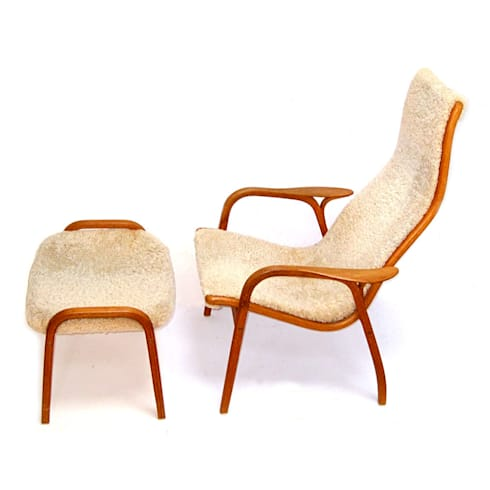 Lamino Chair And Footstool