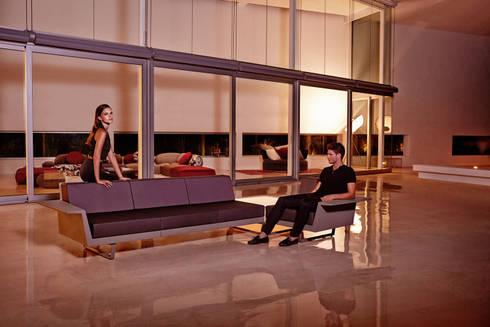 Sofá de exterior Flat : Jardín de estilo  de Ociohogar