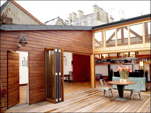 r habilitation sur l vation ivry sur seine by atelier d 39 architecture jahel homify. Black Bedroom Furniture Sets. Home Design Ideas
