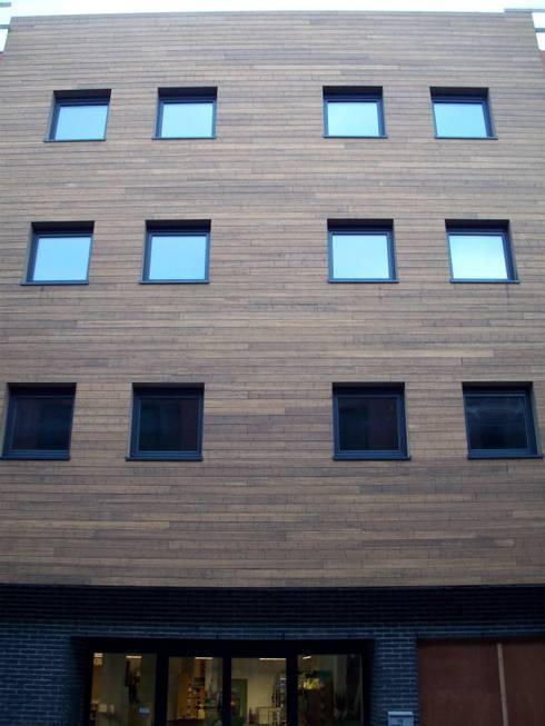 Bamboe:  Huizen door Punto Verde Bamboe toepassingen