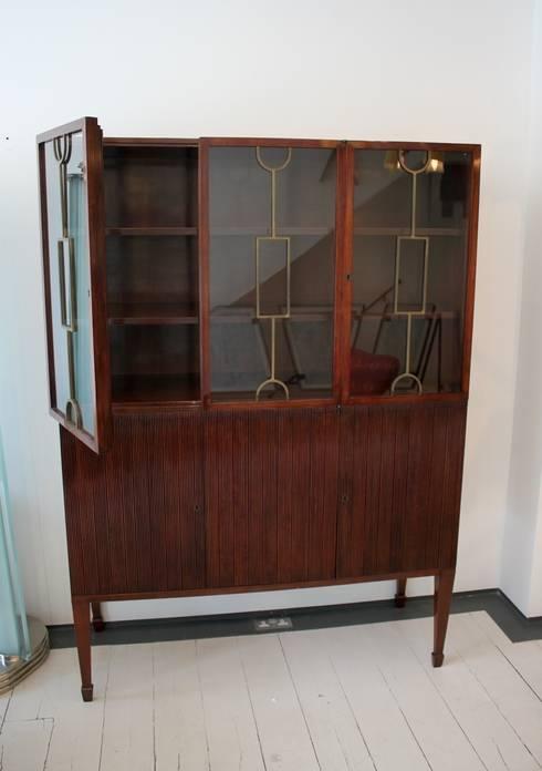 Paolo Buffa cabinet. Italian, 1950s:  Living room by De Parma